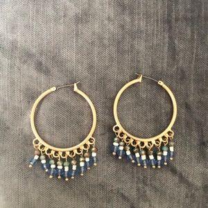 ✨ Lonna & Lilly Beaded Gold Hoop Earrings